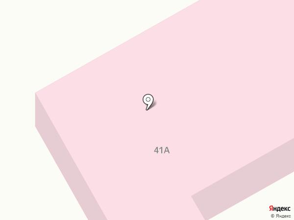 Детский санаторий для больных ревматизмом на карте Киселёвска