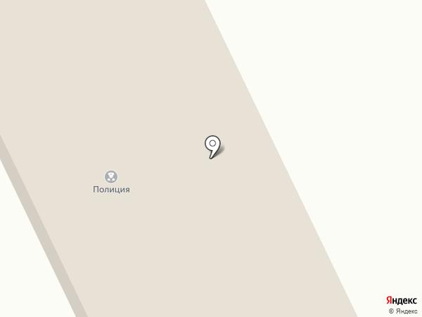 Отдел полиции Афонино на карте Киселёвска