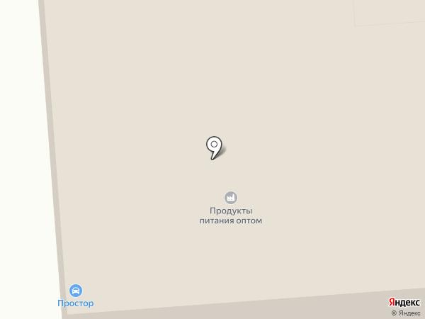 Простор на карте Киселёвска