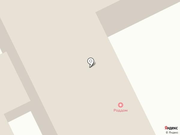 Родильный дом на карте Киселёвска