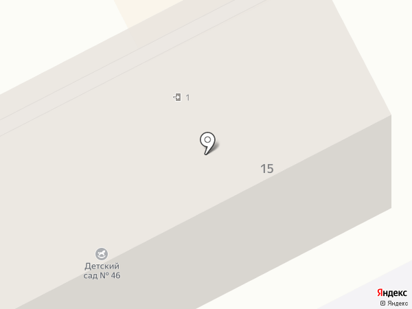 Детский сад №33 на карте Киселёвска