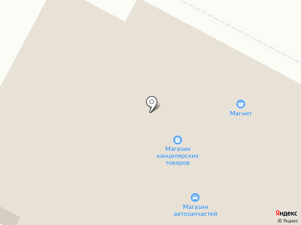 Продовольственный магазин на ул. Черных на карте Киселёвска