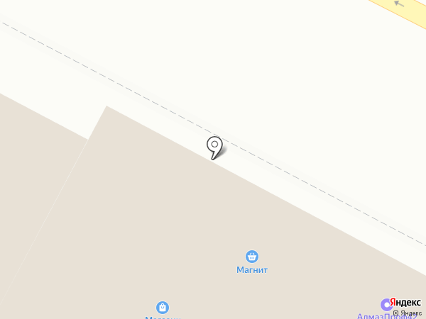 Октаэдр на карте Киселёвска