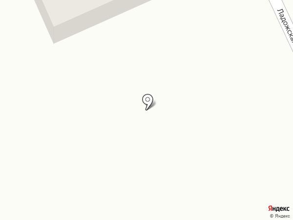 Городская баня №11 на карте Прокопьевска