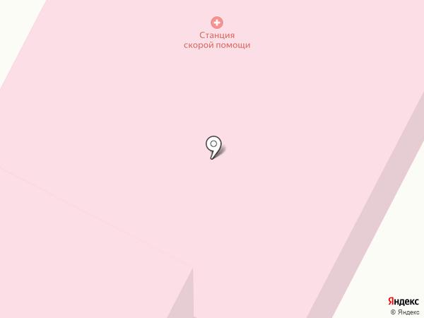 Поликлиника №2 на карте Киселёвска