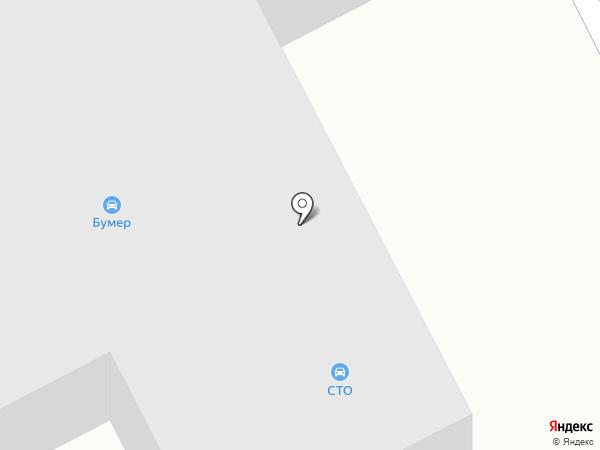 Кабриолет на карте Киселёвска