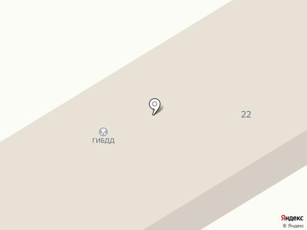 Регистрационно-экзаменационный отдел ГИБДД ОВД по г. Киселёвску на карте Киселёвска