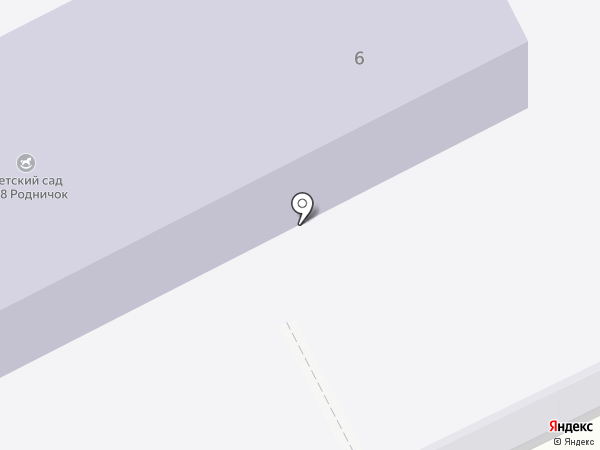Детский сад №7 на карте Прокопьевска