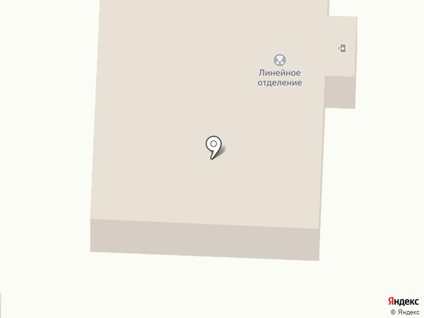 Линейное отделение полиции на ст. Прокопьевск на карте Прокопьевска