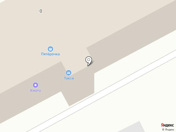КУЗБАСС-такси на карте Прокопьевска