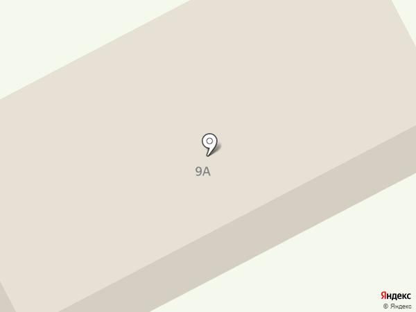 Шахтер на карте Прокопьевска
