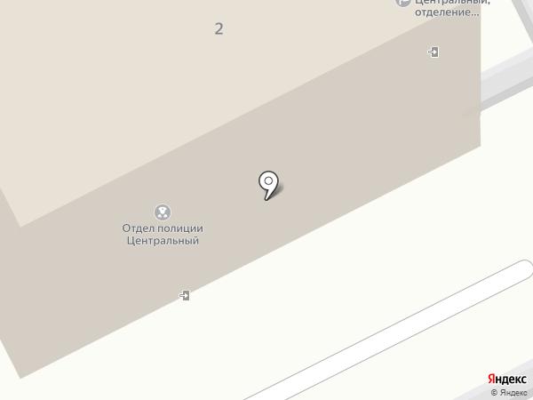 Отдел полиции Центральный на карте Прокопьевска