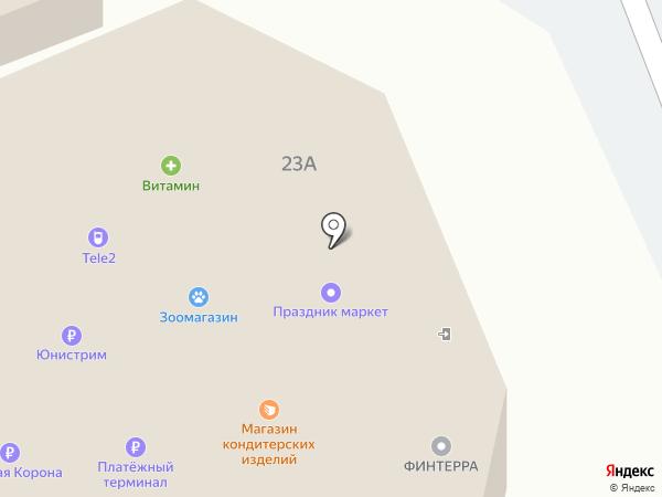 Церковная лавка на карте Прокопьевска