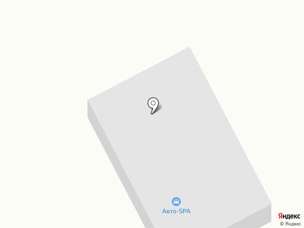 АВТО-SPA на карте Прокопьевска