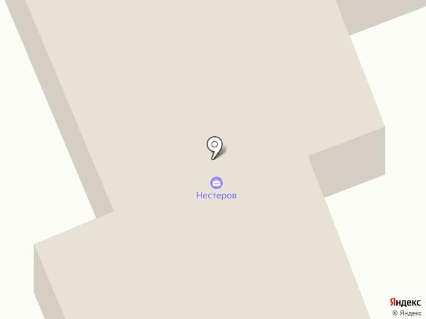 Нестеров на карте Прокопьевска