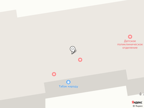 Детская поликлиника на карте Прокопьевска