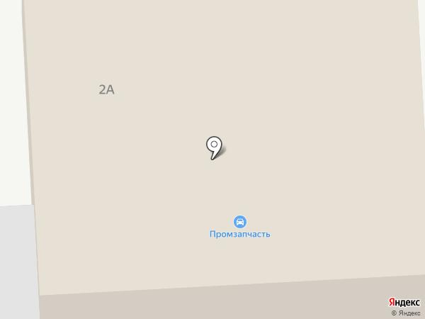 Магазин автозапчастей на карте Прокопьевска