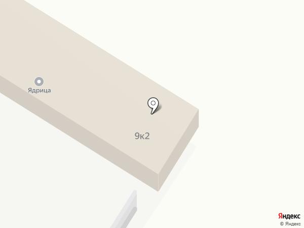 Ядрица на карте Новокузнецка