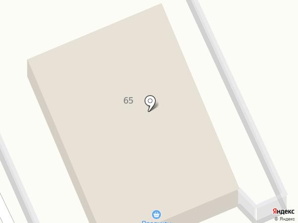 Продуктовый магазин на карте Металлургова