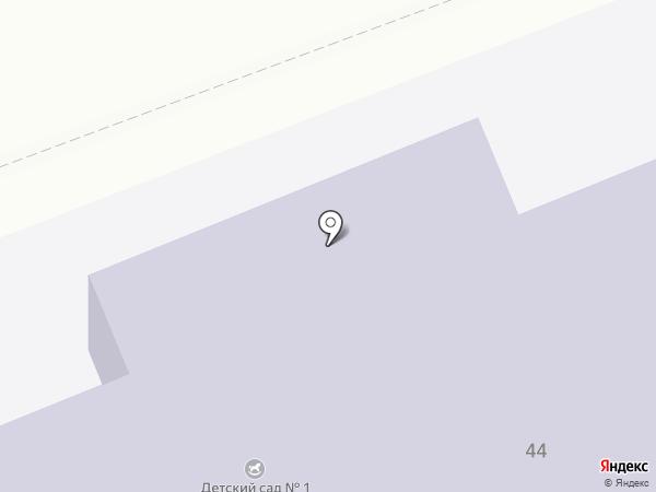Металлурговский детский сад №1 на карте Металлургова
