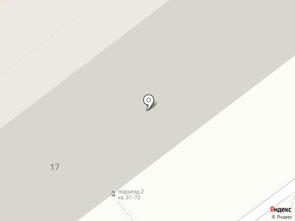 Аваст на карте Новокузнецка