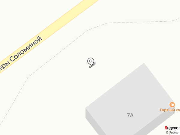 Горячий хлеб на карте Новокузнецка