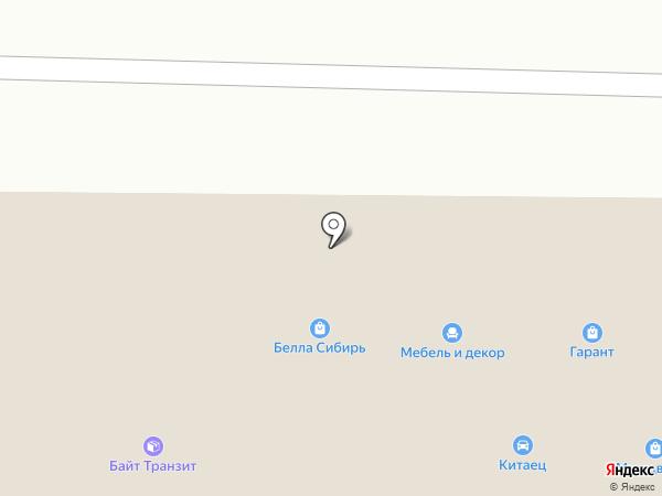 Быстро-Печать на карте Новокузнецка