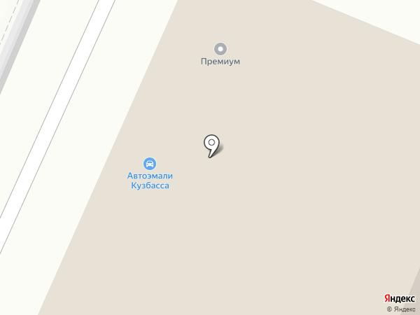 Импокар на карте Новокузнецка