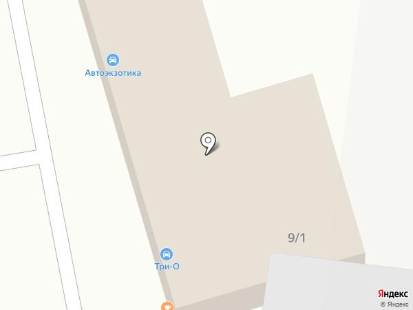 Автоэкзотика на карте Новокузнецка