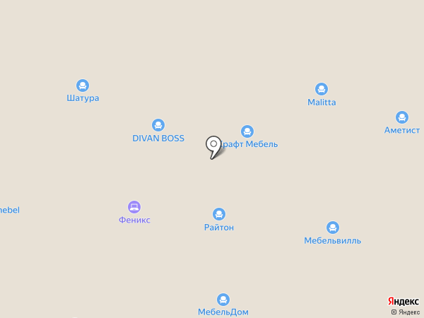Cherubino на карте Новокузнецка