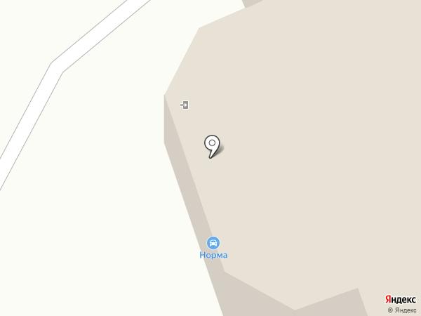 ТЕН-НК на карте Новокузнецка