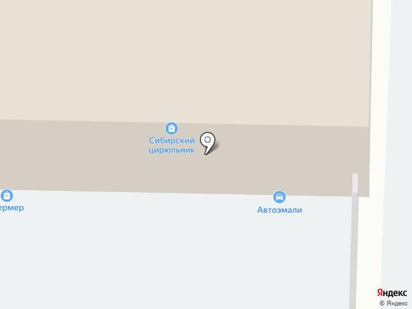 Магазин свежей выпечки и полуфабрикатов на карте Новокузнецка