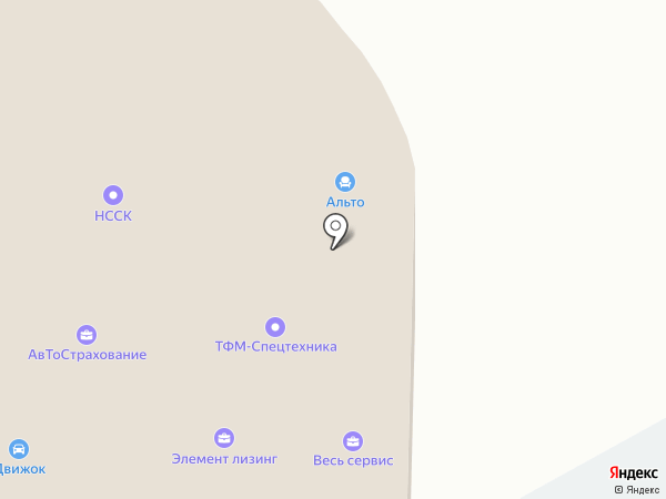Финансовая защита на карте Новокузнецка
