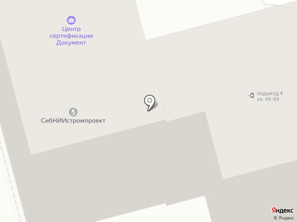 ГОСТСЕРТГРУПП НОВОКУЗНЕЦК на карте Новокузнецка