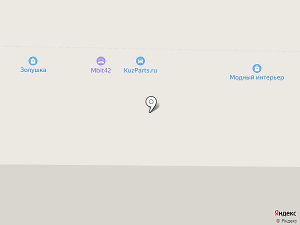 Mbit на карте Новокузнецка