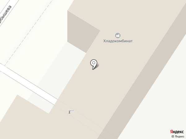 Автокомплекс на карте Новокузнецка
