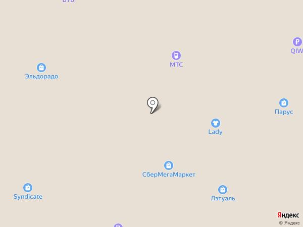 Grotes Que на карте Новокузнецка