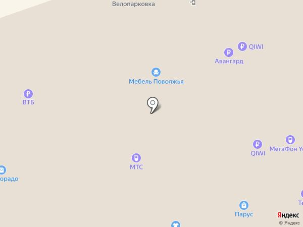 Союзпечать на карте Новокузнецка