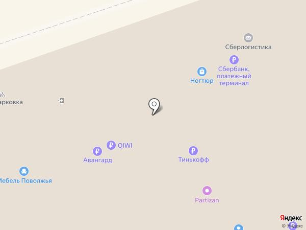 Банкомат, Банк Зенит, ПАО на карте Новокузнецка