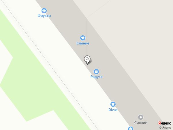 Звезда на карте Новокузнецка