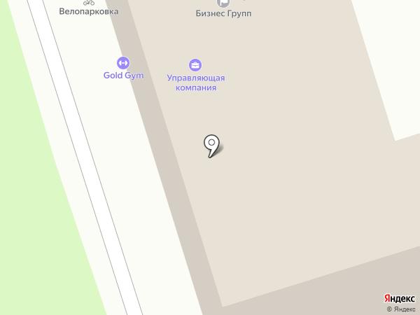 GOLD GYM на карте Новокузнецка