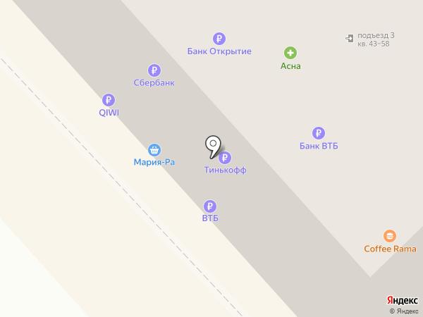 Банкомат, ВТБ Банк Москвы, ПАО Банк ВТБ на карте Новокузнецка