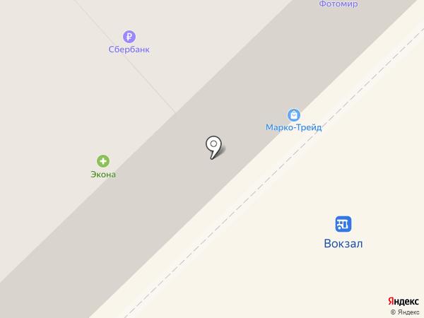 Хамелеон на карте Новокузнецка