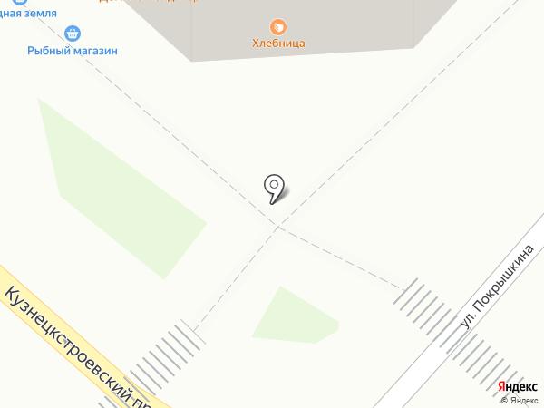 Охапка на карте Новокузнецка