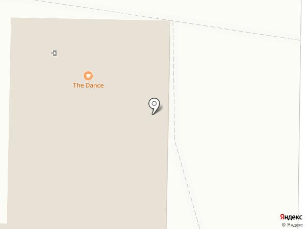The Dance Café на карте Новокузнецка