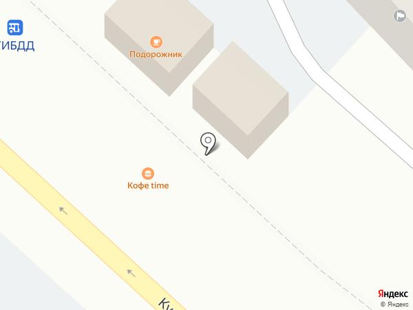 Time на карте Новокузнецка