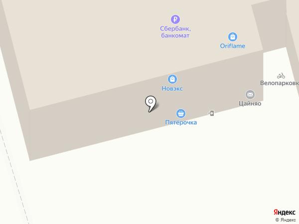Сибсад на карте Новокузнецка