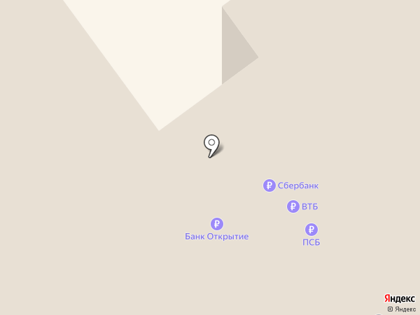 Банкомат, Росбанк, ПАО на карте Новокузнецка