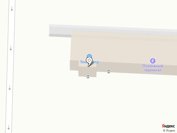 Регистрационно-экзаменационный отдел ГИБДД Управления МВД России по г. Новокузнецку на карте Новокузнецка