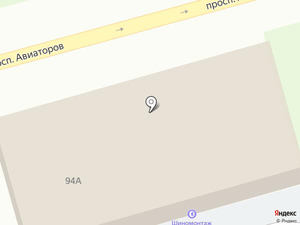 Калинкино на карте Новокузнецка